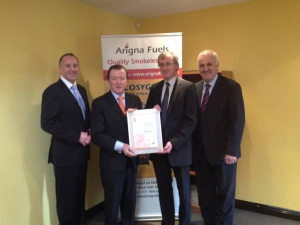 T.D. Perry visits Arigna Fuels